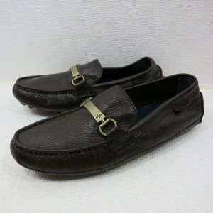 Cole Haan Horse Bit Leather Moccasin Loafers Shoes